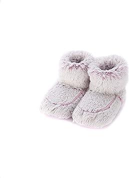 Warmies - Botas de zapatillas de color rosa Marshmallow: Amazon.es ...