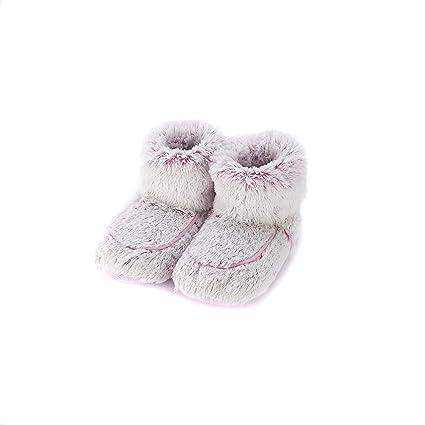 Warmies - Botas de zapatillas de color rosa Marshmallow