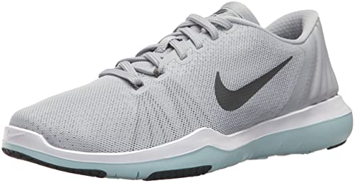 34f321b70d5d Nike Women s Flex Supreme TR 5 Cross Trainer Wolf Dark Grey White Glacier  Blue