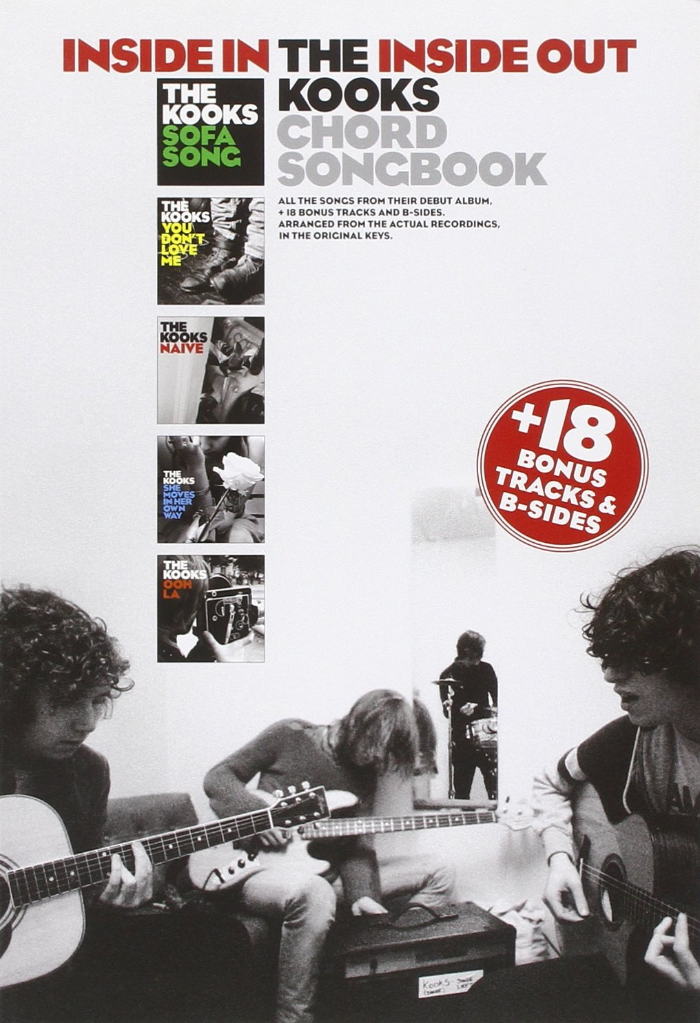 The Kooks Inside Ininside Out Chord Songbook 9781846098383
