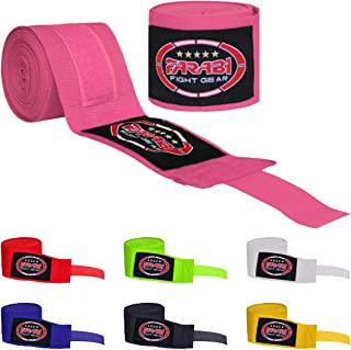 Farabi Kids Boxing Hand Wraps 2.5 Meters MMA Workout Hand Wraps