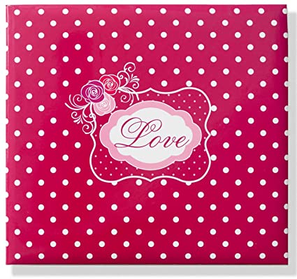 Amazon Love Word Cover Scrapbook Album 10x10 With 40 Sheets