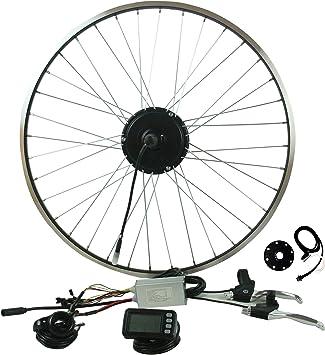 """Prystel 27PTC - Kit para Bicicleta eléctrica DE 27.5"""" (Rueda Trasera, 36V/"""