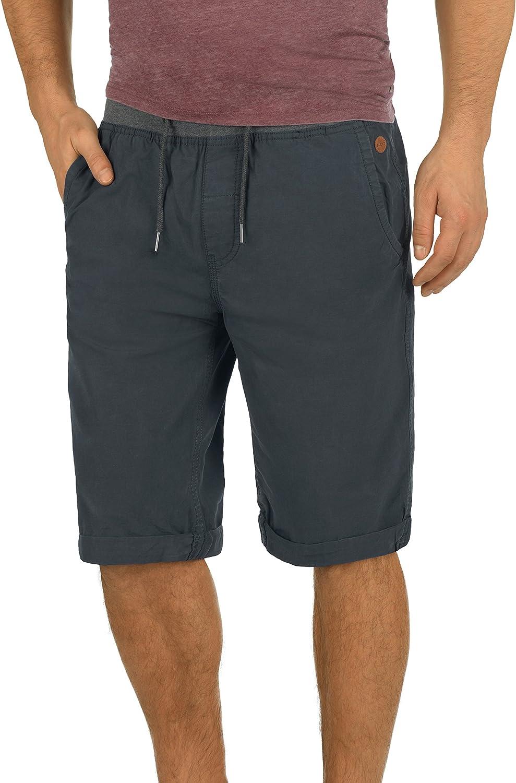 Blend Claude Chino Pantal/ón Corto Bermuda Pantalones De Tela para Hombre De 100/% Algod/ón Regular-Fit