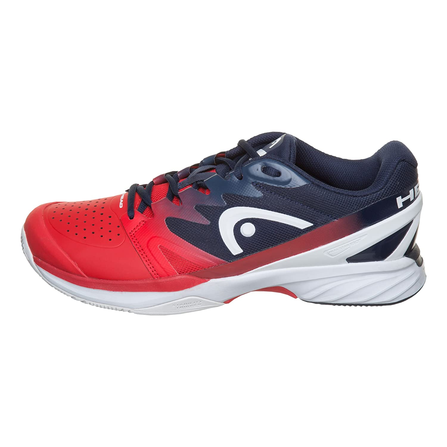 Head Sprint Pro 2.0 Clay Rojo Azul 273118 RD: Amazon.es: Deportes ...