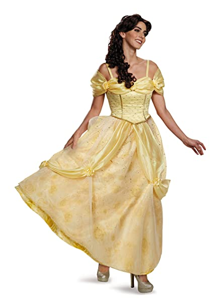 Amazon.com: Disfraz de la mujer bella y la Bestia Belle ...