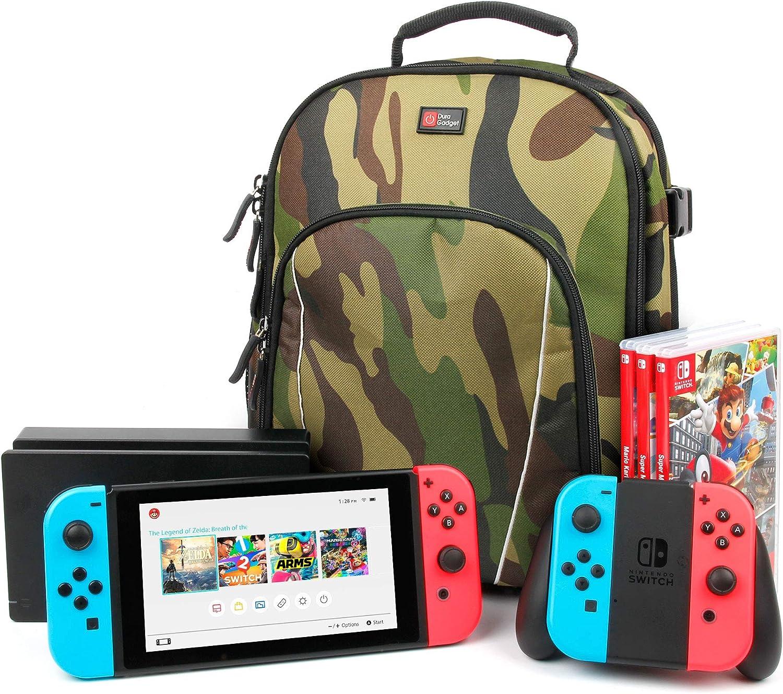 Duragadget – Mochila para videoconsola Nintendo Switch, pantalla de 6,2 pulgadas: Amazon.es: Electrónica