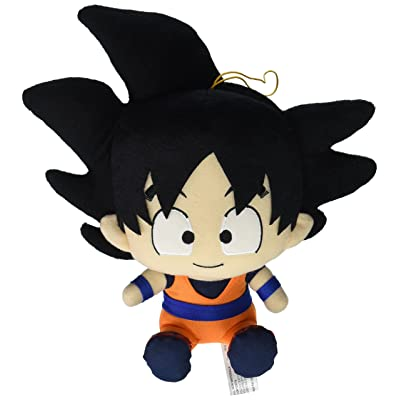 "Great Eastern Entertainment Dragon Ball Z- Goku Sitting Pose Plush 7"" H: Toys & Games"