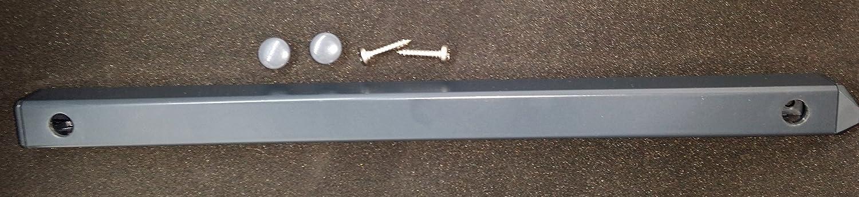 Grey Aluminium Trickle Vent - Large (Only Vent Size 460mm) BROOKVENT