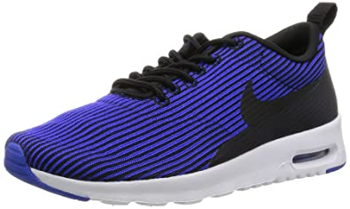 606c918b63 Nike Women's Air Max Thea Kjcrd Black/Black/Racer Blue/White Running Shoe