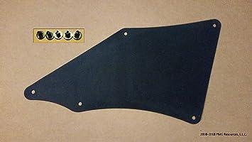 Fender Liners Splash Shield for Toyota Tacoma N220//N240//N250//N260//N270//N300 2005-2020 Apron Seal Skirt Mud Flaps Guards Mudflaps OE# 5375-05060 537505060 53883-04010 5388304010 W//Clips 9046710186