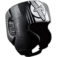 Hayabusa Fightwear Ikusa Recast Headgear - Black/White - One Size
