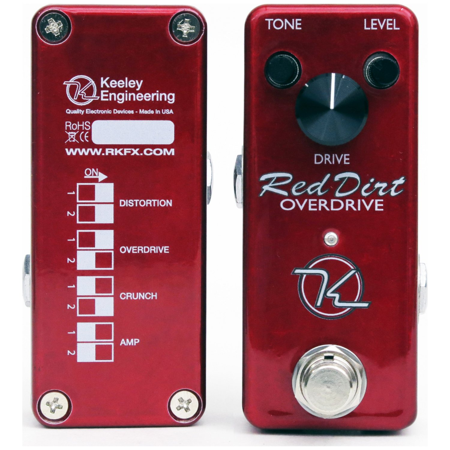 keeley electronics mini red dirt overdrive musical