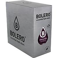 Bolero Bebida Instantánea sin Azúcar, Sabor Cereza-Kola - Paquete de 24 x 9 gr - Total: 216 gr
