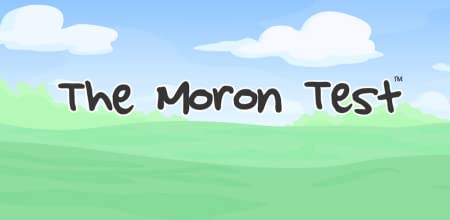 Amazon.com: The Moron Test: Appstore for Android