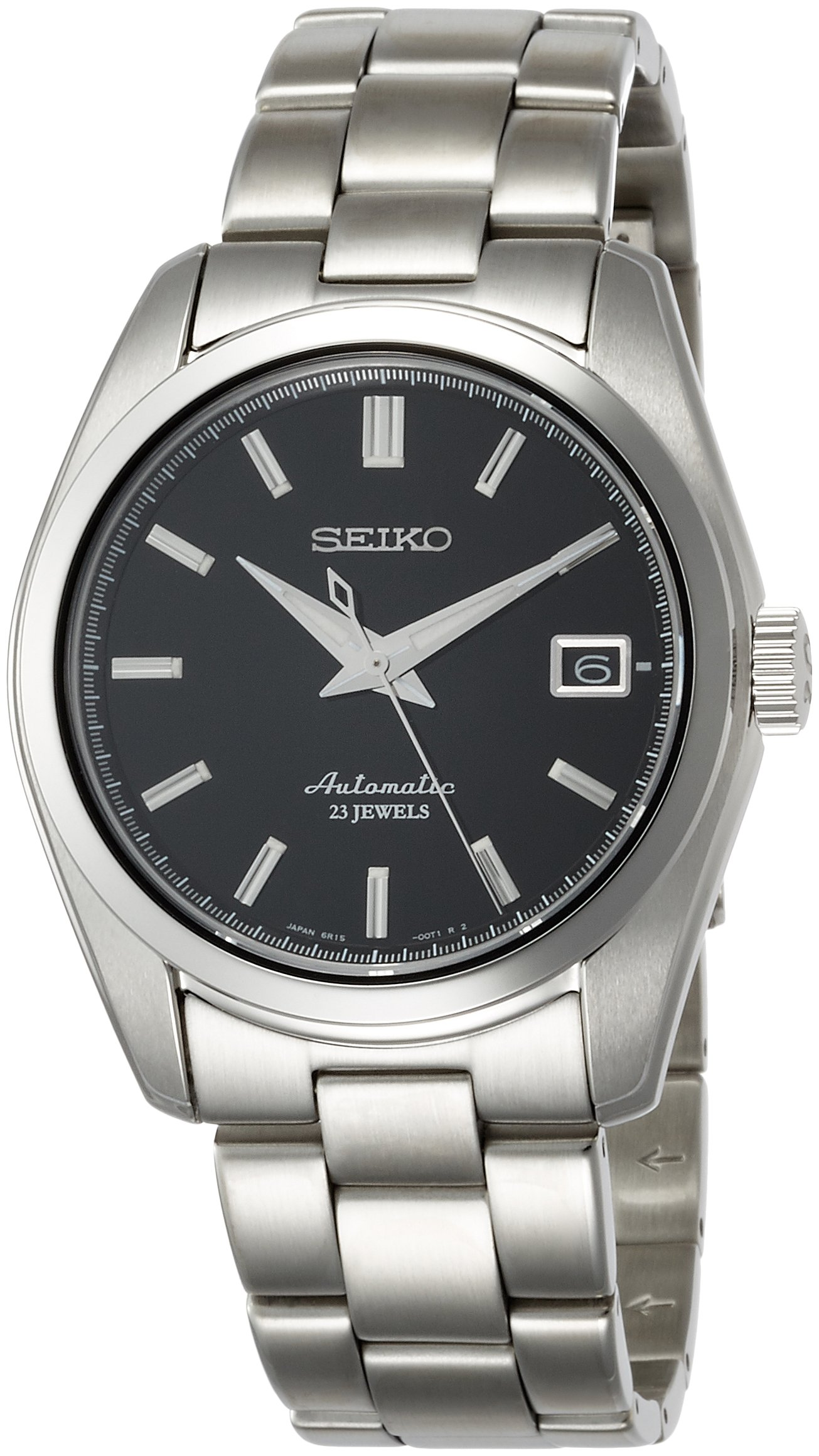 Seiko Men's Japanese-Automatic Watch with Stainless-Steel Strap, Silver, 20 (Model: SARB033) by SEIKO