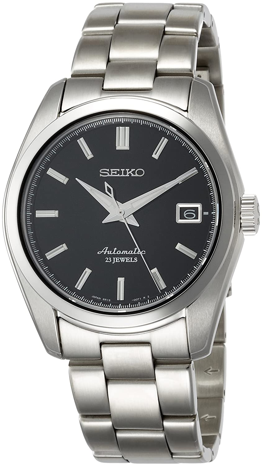 Seiko Men s Japanese-Automatic Watch with Stainless-Steel Strap, Silver, 20 Model SARB033
