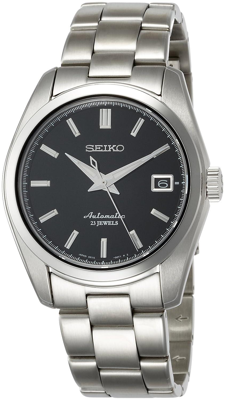 Seiko Reloj para Hombre de Automático con Correa en Acero Inoxidable SARB033: Amazon.es: Relojes