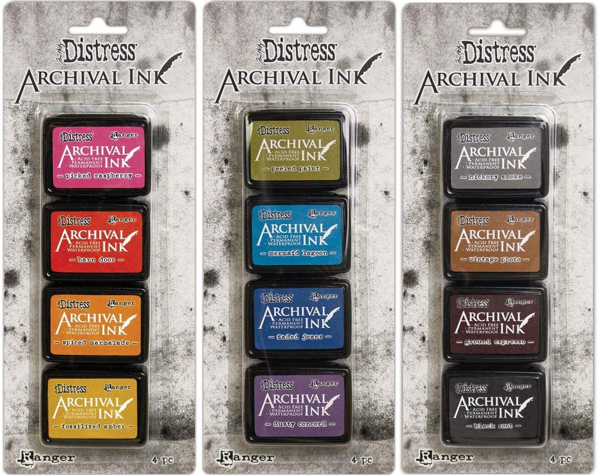 Tim Holtz Distress Archival Mini Ink Kits