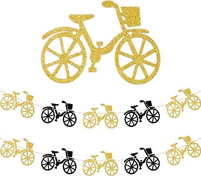 Guirnalda de 2 piezas para bicicleta, decoración de fiesta de ...