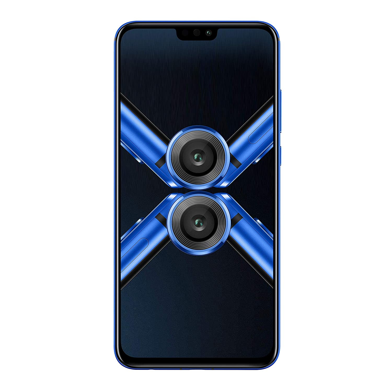 (Renewed) Honor 8X (Blue, 4GB RAM, 64GB Storage)
