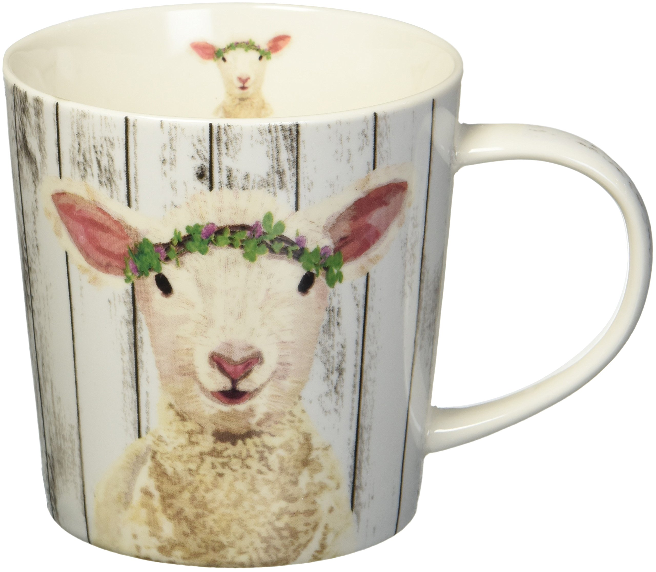 Paperproducts Design 603099 Maisie by Two Can Art Gift Boxed Mug, White