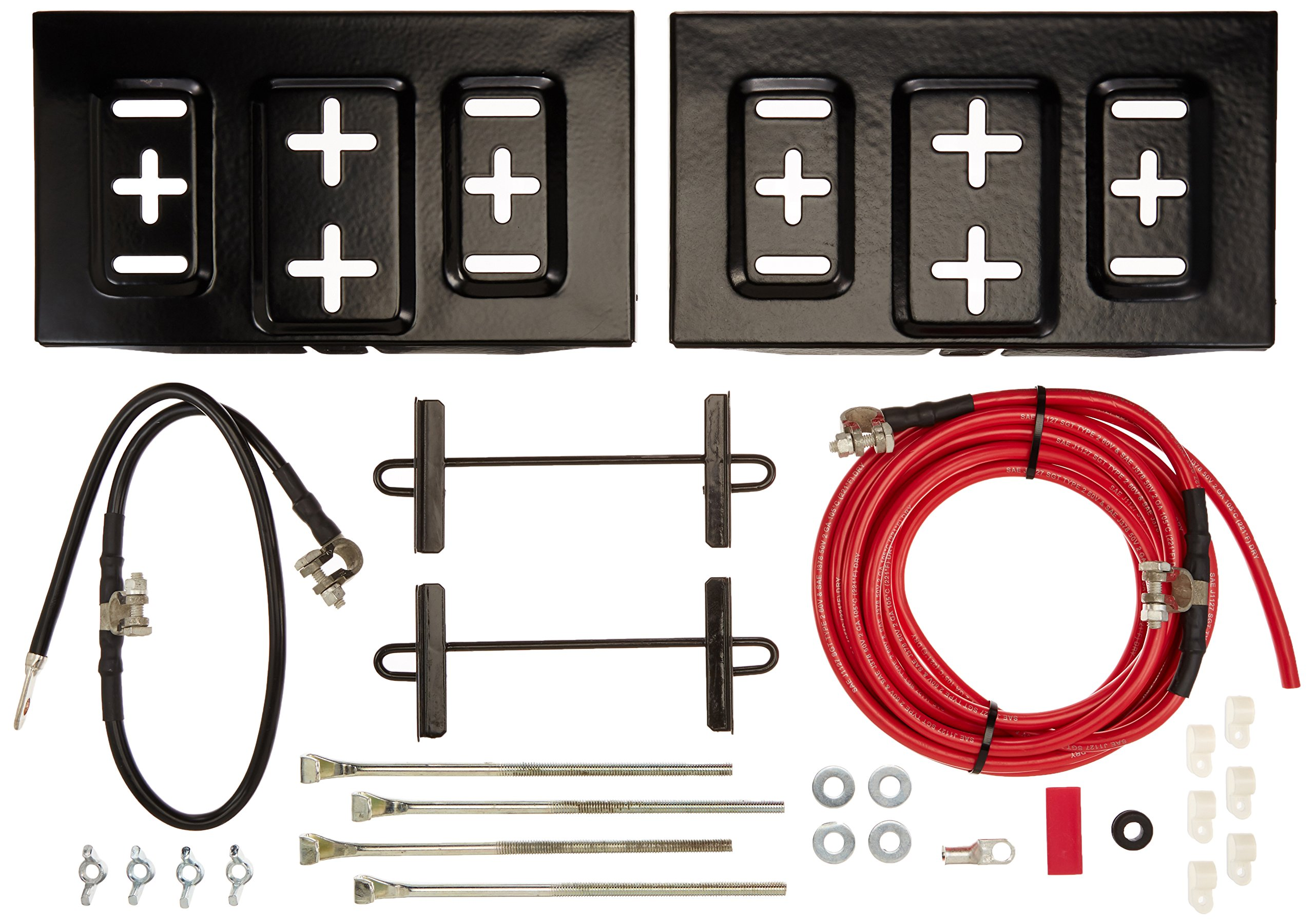Taylor Cable 48500 Side-By-Side Dual Mount Battery Relocator Kit by Taylor Cable