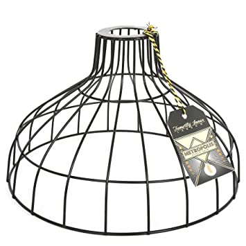 Large cage wire lamp shade amazon baby large cage wire lamp shade keyboard keysfo Gallery