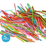 """Carykon 50 Pcs 2.8"""" Plastic Lacing Needles for Sewing and Weaving Crafts Safe for Children, Assorted Colors"""