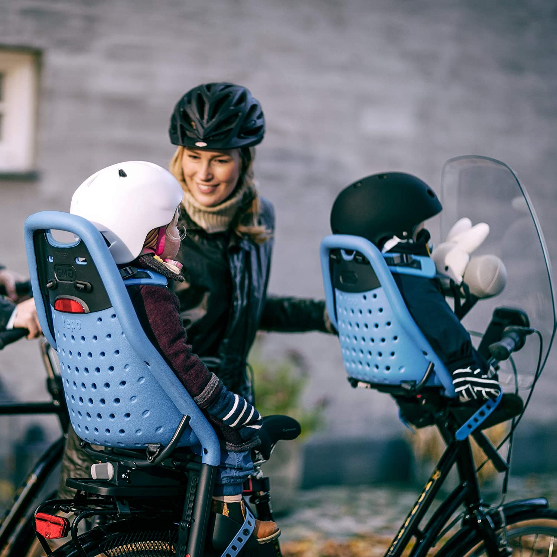 blue blue seat post mount Thule Yepp Maxi rear seat