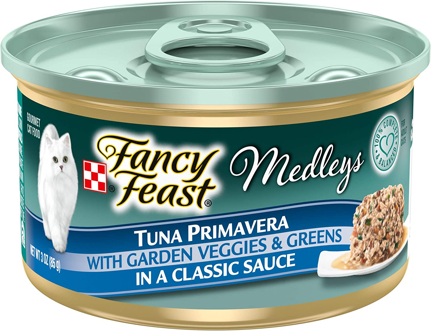 Purina Fancy Feast Medleys Adult Canned Wet Cat Food - (24) 3 oz. Cans