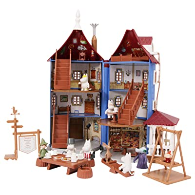 Moomin House with 9 Figures, Furniture and Accessories: Toys & Games