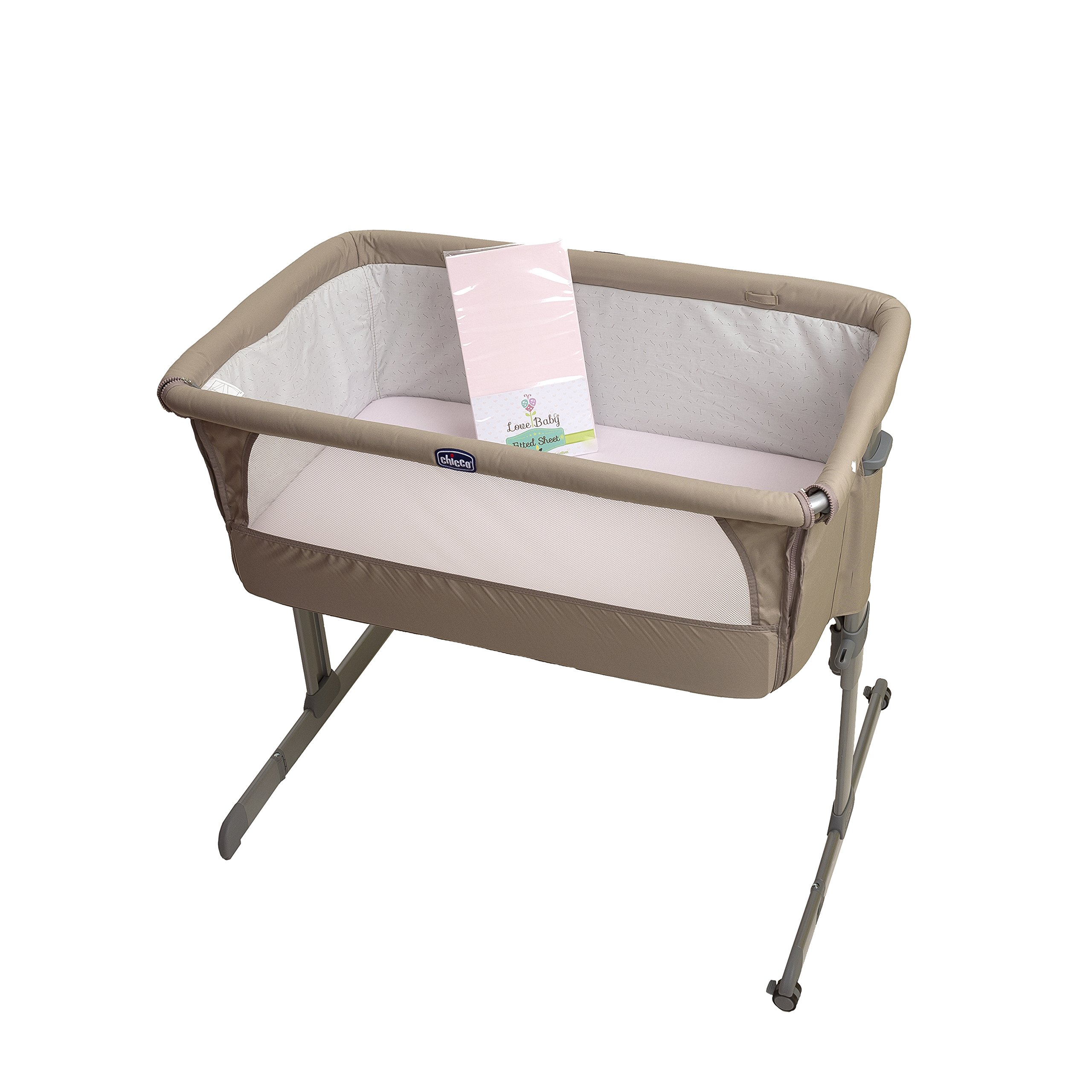 Beanbone 2 X Top Quality Fitted Crib Sheets Fit The Next