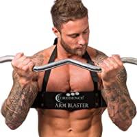 Credence Arm Blaster, Heavy-Duty Workout, Bicep Curls Gym Accessory, Arnold Style Bodybuilding Training