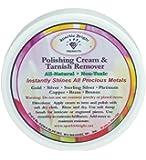 Prodotti Sparkle Bright per la pulizia completamente naturale dei gioielli | Smacchiatore e crema lucidante - 2 oz.