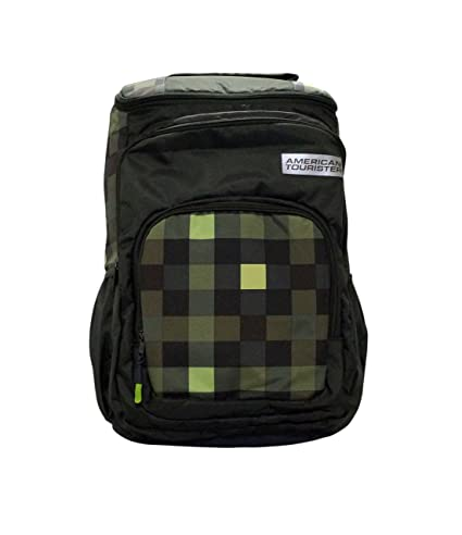 aa3793c9a2 American Tourister Doodle Plus 02 Olive Backpack  Amazon.in  Bags ...