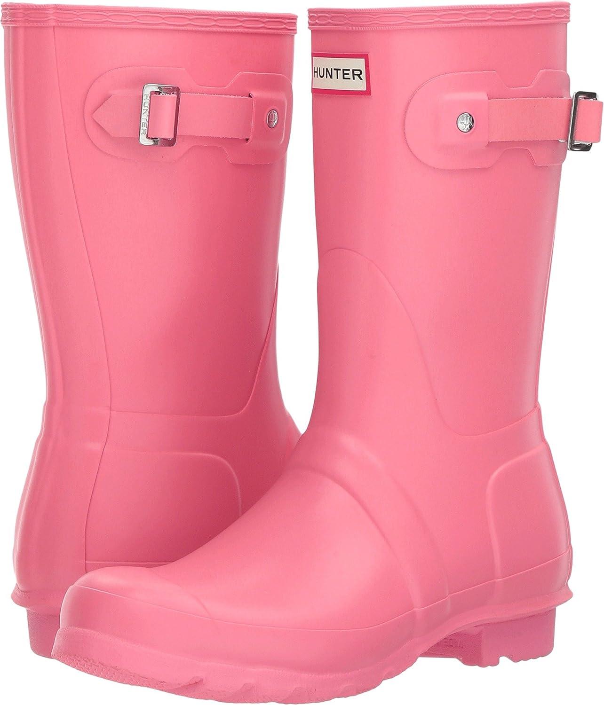 Hunter Women's Original Short Rain Boot B06Y45VMMS 10 B(M) US|Pink