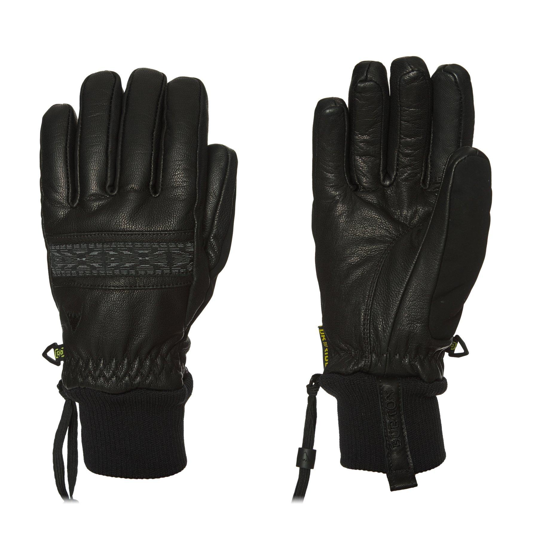 Burton Free Range Ski Gloves Large True Black by Burton