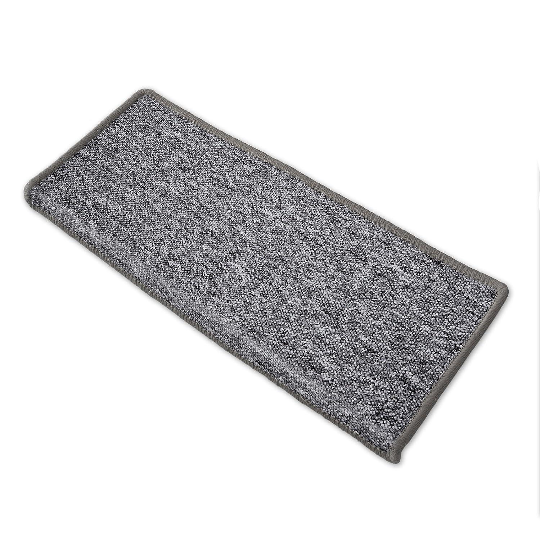 Casa pura® Teppich Läufer in in in zahlreichen Größen   grau   GUT-Siegel   Qualitätsprodukt aus Deutschland   kombinierbar mit Stufenmatten (Größe  400x200 cm) B01ENK9BES Teppiche 8d586c