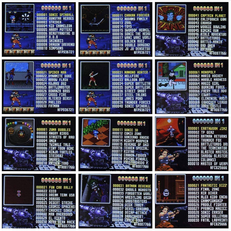 OMKARSY Consola de juegos portátil, 2.7 pulgadas, pantalla ...