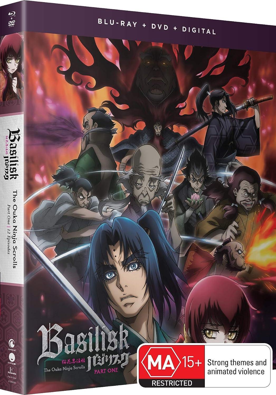 Amazon.com: Basilisk: The Ouka Ninja Scrolls - Part One [Blu ...