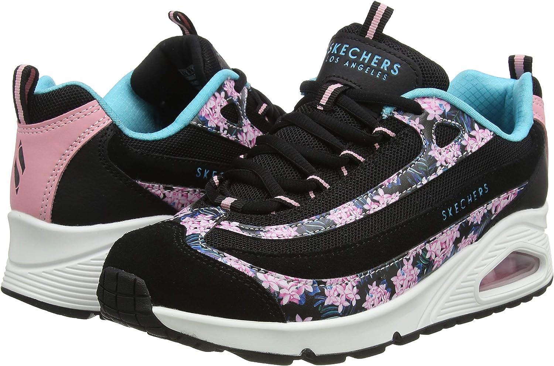 Skechers Uno Midnight Blooms, Zapatillas Mujer: Amazon.es: Zapatos y complementos