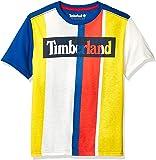 Timberland 大男孩短袖徽标圆领 T 恤