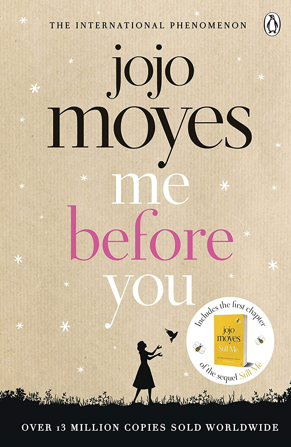 the front cover of jojo moye's bestselling book me before you