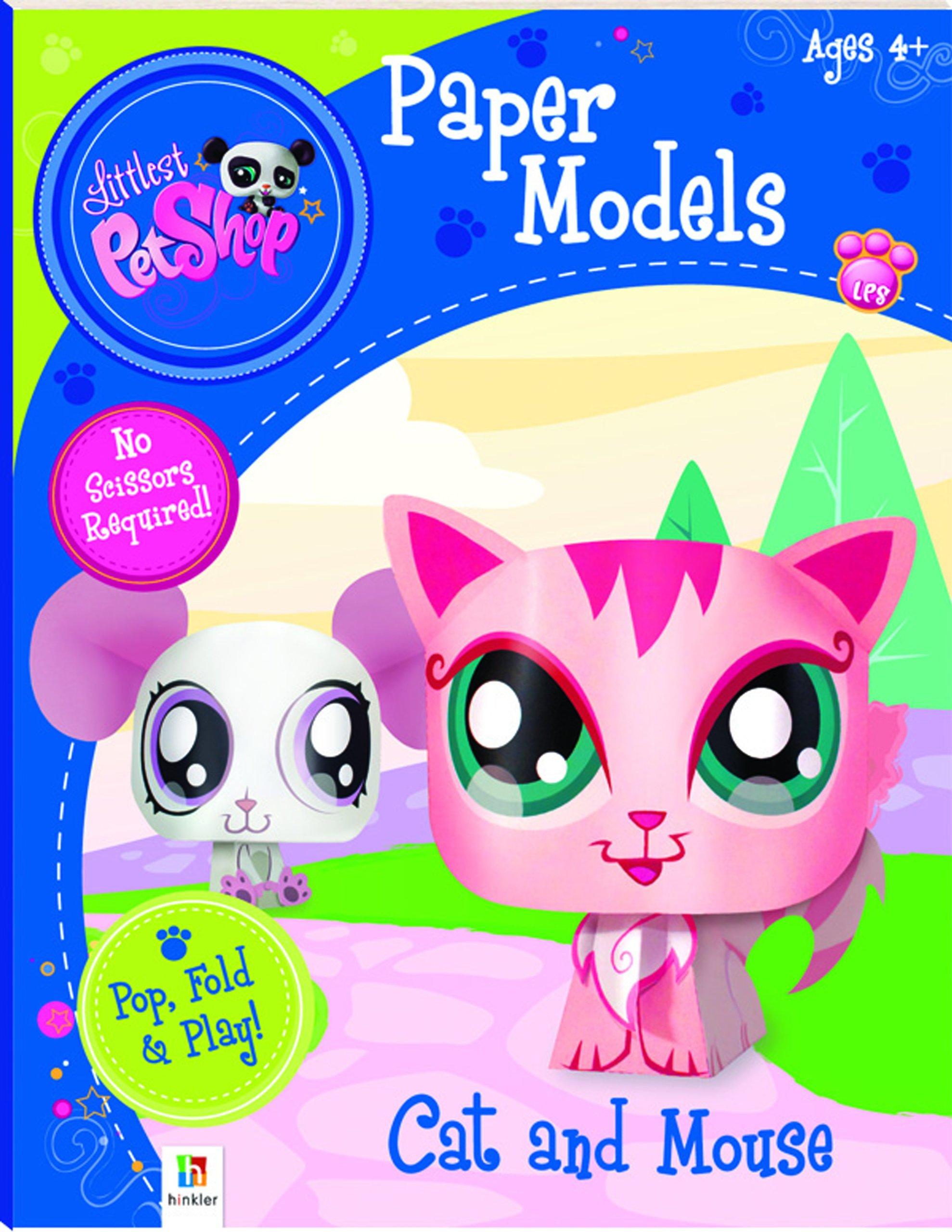 Download Littlest Pet Shop Cat and Mouse (Paper Model series) pdf