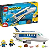 LEGO Minions: Minion Pilot in Training (75547) Toy Plane Building Kit for Kids, a Great Present for Kids Who Love Minions Toy
