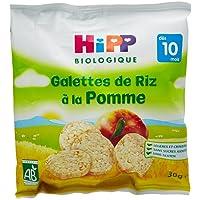 Hipp Biologique Galettes de Riz à la Pomme dès 10 mois - 7 sachets de 30 g