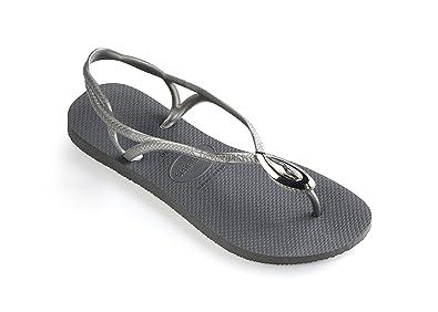 783a4baafd58 Havaianas Luna Special Femme Sandales Noir  Amazon.fr  Chaussures et Sacs