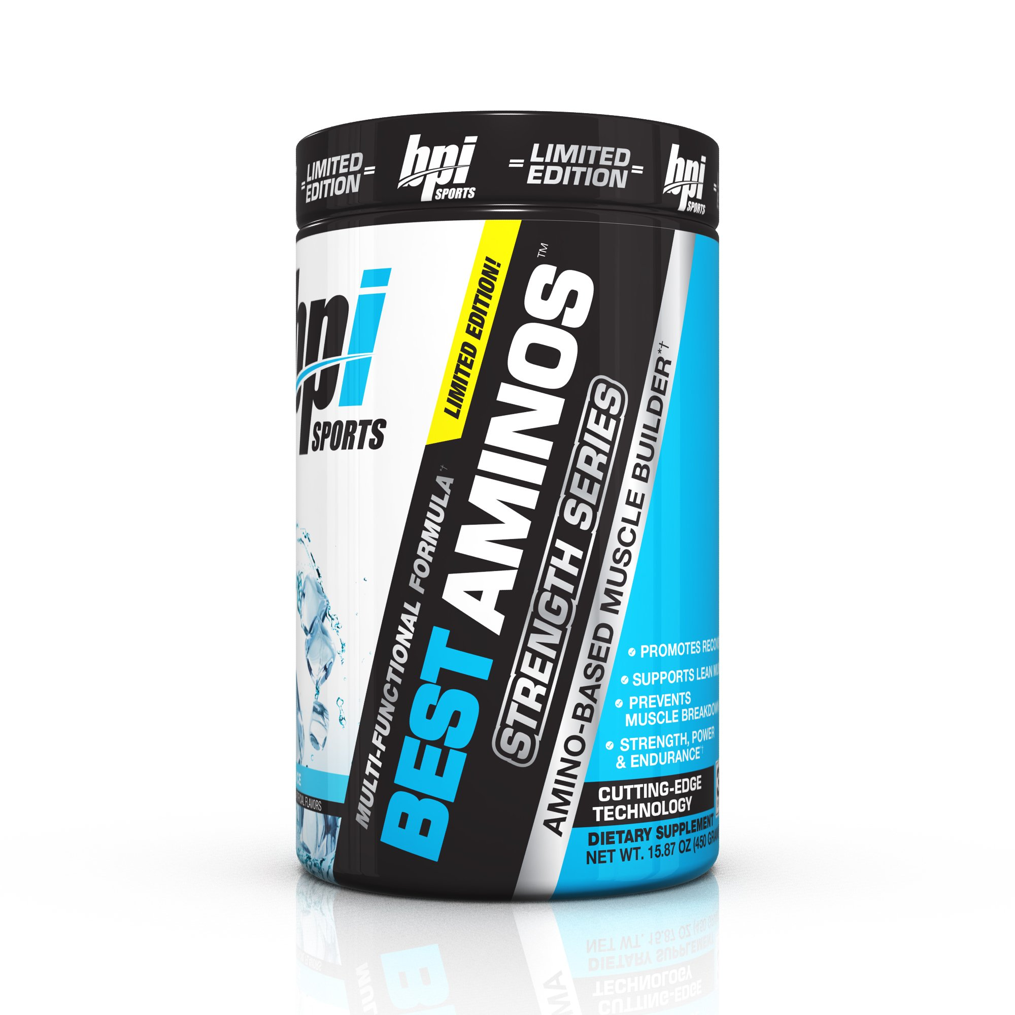 BPI Sports Best Aminos Strength Series, Arctic Ice, 15.87 Ounce