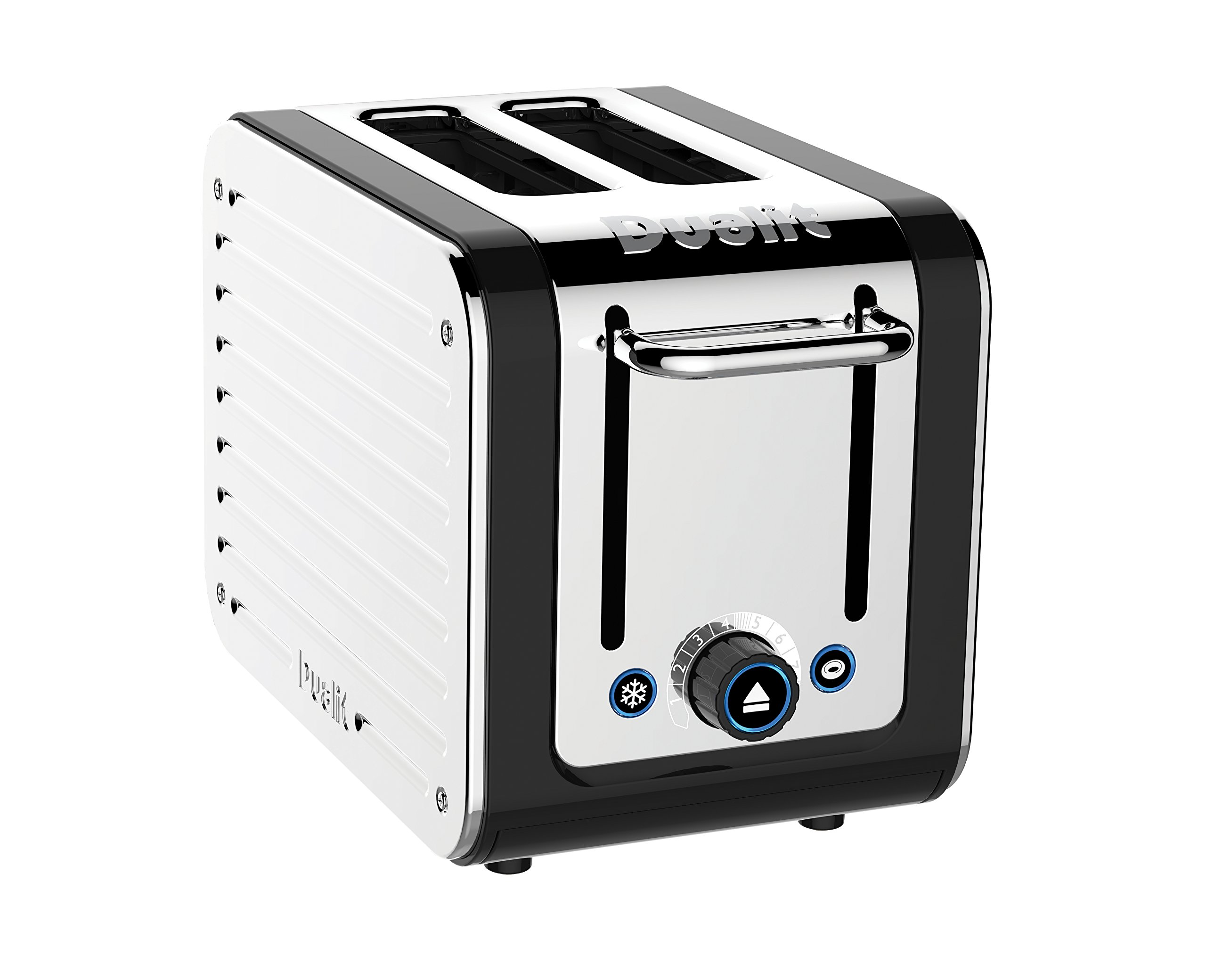 Dualit 26555 2-Slice Design Series Toaster, Black and Steel